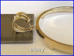 14k Yellow Gold 50 Pesos Coin Bezel-Frame