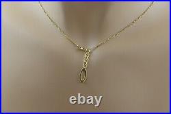 18K Yellow Gold Roberto Coin Necklace, 19 Long