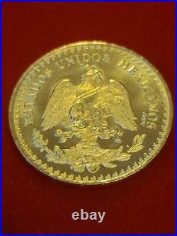 $50 pesos Mexico Centenario Oro 14k