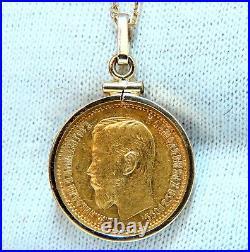 5 Ducat Coin Pendant 22 Karat 1898