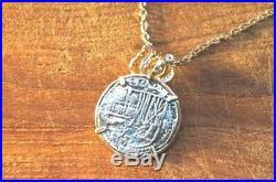 ATOCHA Coin 14K Gold Octopus Sealife Sunken Treasure Shipwreck Coin Jewelry