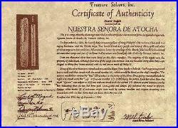 ATOCHA Coin Dolphin Pendant 14K Yellow Gold Treasure Shipwreck Coin Jewelry
