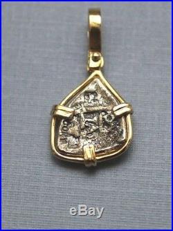 ATOCHA Coin Pendant 14K Gold Sunken Treasure Shipwreck Coin Jewelry