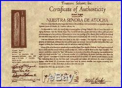 ATOCHA Coin Pendant 14K Yellow Gold Sunken Treasure Jewelry