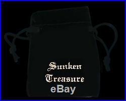 ATOCHA Coin Pendant Mermaid 14K Yellow Gold Treasure Jewelry