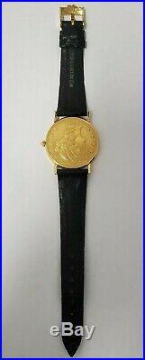 Corum 1896 $20 Dollar Double Eagle Yellow Gold Coin Watch, 1896