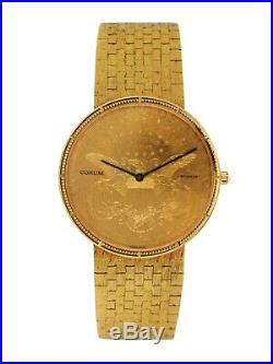 Corum $20 Gold Coin 35mm Bracelet Watch (22805)