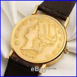 Corum Twenty Dollar Coin 1904 5814556 18k Yellow Gold