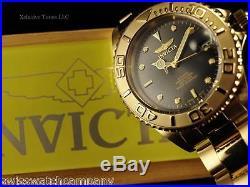 Invicta Men Submariner Coin Edge PRO DIVER Auto 18KGT Dark Shark Gray Dial Watch