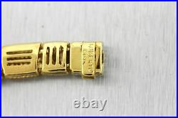 Ladies Italian Roberto Coin 18K Yellow Gold 16.00 8mm Collar Necklace