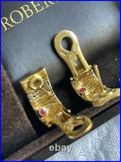 ROBERTO COIN new diamond earrings
