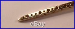 Rare Roberto Coin Pois Moi 18k Yellow Gold Nail Necklace Pendant