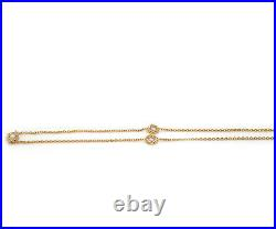 Roberto Coin 0.25ctw Diamond Station Necklace in 18K