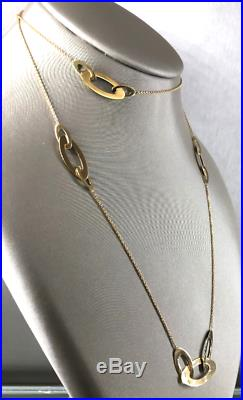 Roberto Coin 18K Gold Chic & Shine Long Necklace
