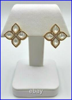 Roberto Coin 18K Yellow Gold Venetian Princess Mother-of-Pearl & Diamond Earring