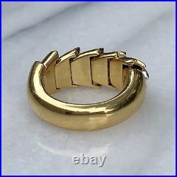 Roberto Coin 18K Yellow White Gold Diamond Animalier Cobra Snake Ring