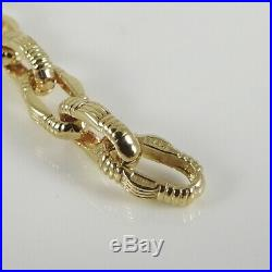 Roberto Coin 18k Gold 17.19tcw Mini Appassionata Chain Diamond Necklace