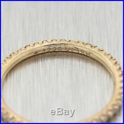 Roberto Coin 18k Yellow Gold 0.40ctw Diamond Wedding Band Ring