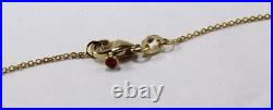 Roberto Coin 18k Yellow Gold Chain 3-station Diamond Dangle Necklace