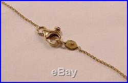 Roberto Coin 18k Yellow Gold Chain 5-station Diamond By The Yard Necklace
