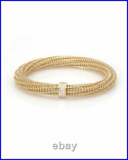 Roberto Coin 18k Yellow Gold Diamond(0.32ct Twd)Primavera Bracelet 5574056AYBAX