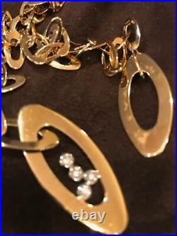 Roberto Coin 18k Yellow Gold & Diamond Chic And Shine Lariat Necklace