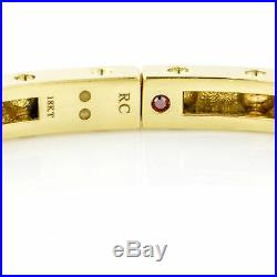 Roberto Coin 18k Yellow Gold Pois Moi Bangle Bracelet