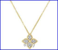 Roberto Coin 18k Yellow Gold Princess Necklace