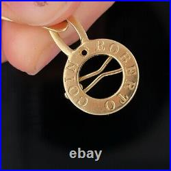 Roberto Coin 18k Yellow Gold Sapphire Bracelet $3299