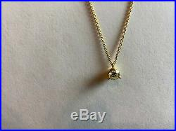 Roberto Coin 18k yellow gold Cento diamond pendant. 0.51 carats