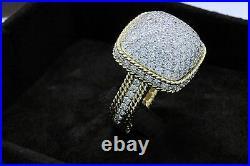 Roberto Coin Barocco Diamond Dome Ring 3.30 tcw 18k Yellow Gold $16,000 Retail