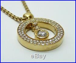 Roberto Coin Cento 18K Yellow Gold & Diamond Designer Necklace FREE SHIPPING