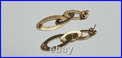 Roberto Coin Chic & Shine 18K Yellow Gold Earrings