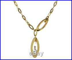 Roberto Coin Chic and Shine Lariat Diamond Necklace in 18K
