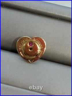 Roberto Coin Diamond Stud Earrings 18k Y Gold 0.66ct G-H VS2