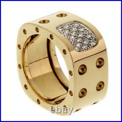 Roberto Coin Pois Moi Diamond Yellow Gold Ring (000rbc)