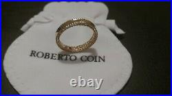 Roberto Coin Princess Band 18K Yellow Gold Ring
