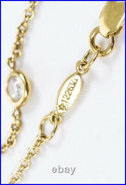 Roberto Coin Solitaire 18k Gold Diamond Necklace