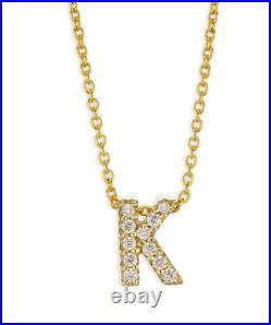 Roberto Coin Tiny Treasures 18K Gold and Diamond K Necklace