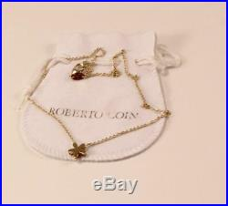 Roberto Coin Y Fiore Princess 18k Yellow Gold Necklace Pendant
