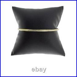 Roberto Coin Yellow Gold 2.00ct Round Diamond Bangle Bracelet MSRP $6,900