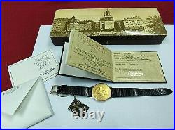 Vacheron Constantin Coin Watch 1896 Liberty With Box & Papers